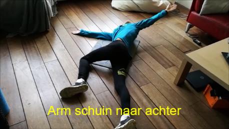 Mobiliteit - Arm schuin naar achter